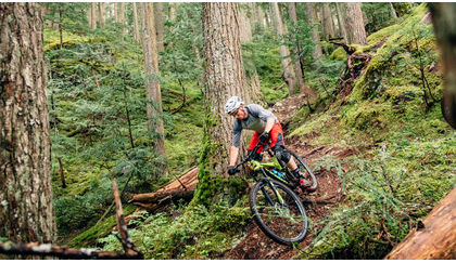 How to ride slippery roots