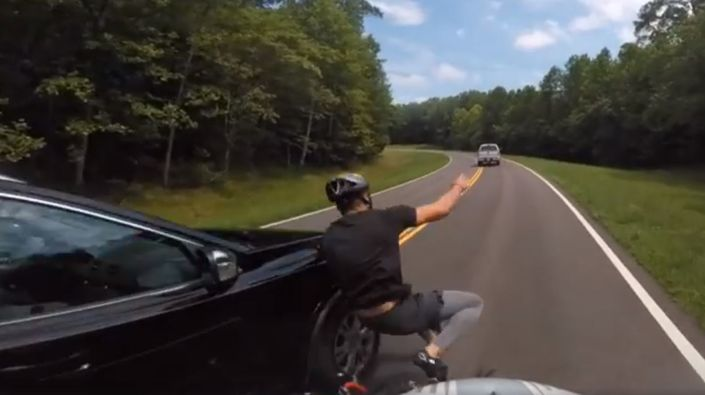 Bicyclist hit-and-run on Natchez Trace Parkway, Tennessee - July 8, 2017