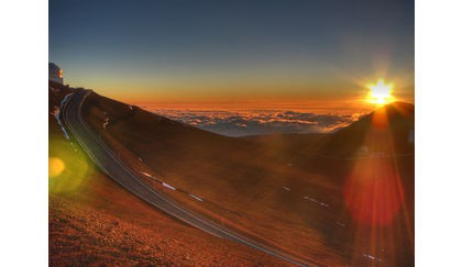 Mauna Kea's 4,200 meter summit is a spectacular climb and view.