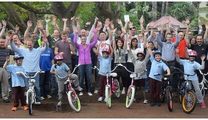 Building Community by Bike