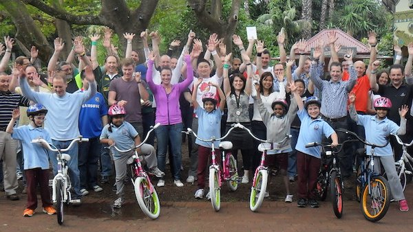 Building Community by Bike.