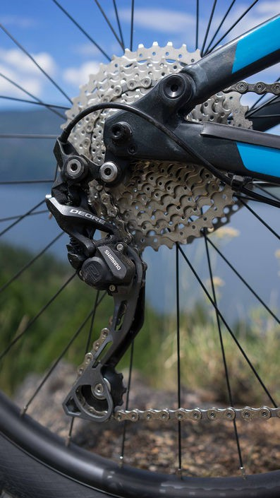 Shimano Deore on Marin Hawk Hill - photo by Josh Palmer