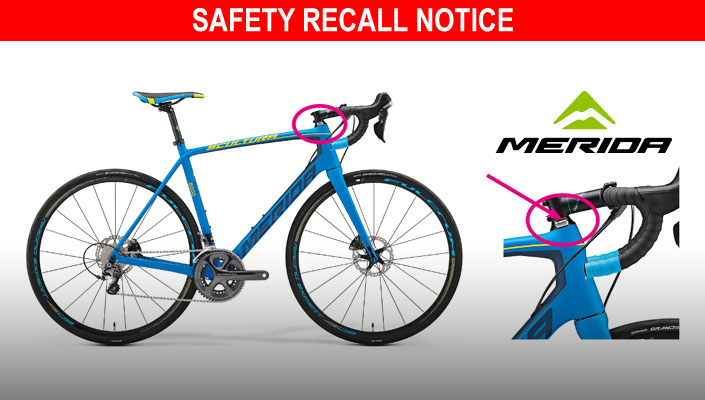 Merida Scultura carbon forks safety recall