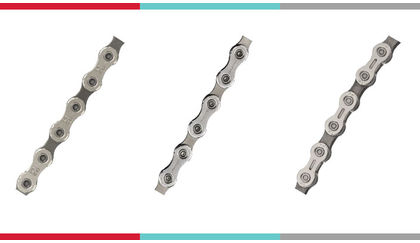 Chains: SRAM Rival 22, Shimano 105, Campagnolo Centaur