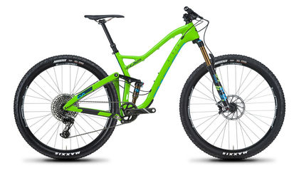 Green Niner JET 9 RDO full-suspension mountain bike