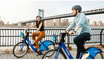 Riding on share bikes instead of in Uber or rental
