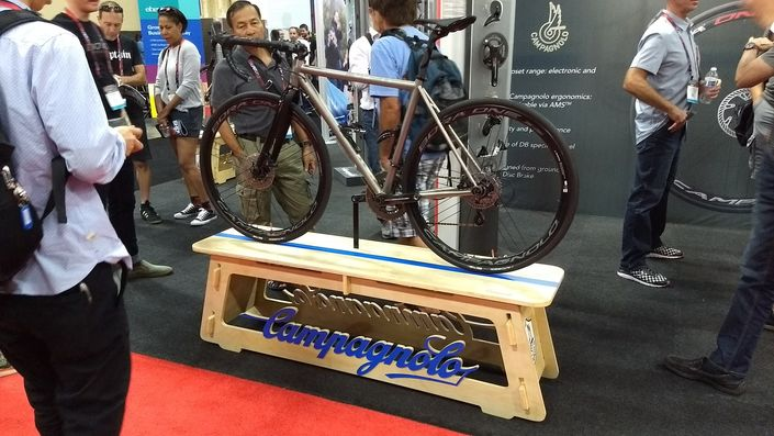 Campagnolo H11 on No. 22 Bicycle Company Drifter
