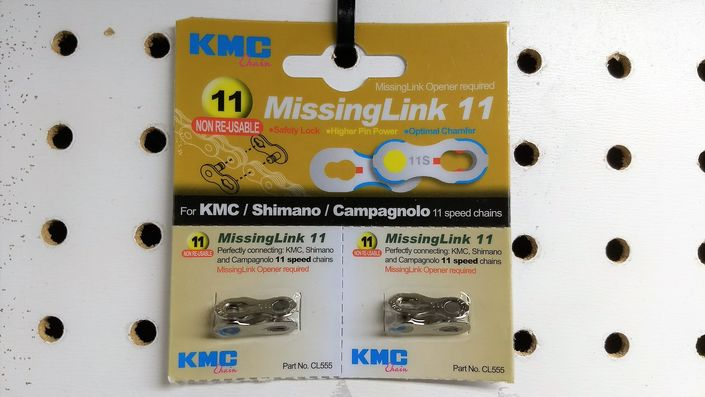 KMC MissingLink 11-speed chain quick-link