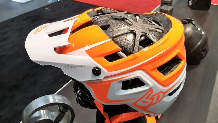 6D ATB-1T EVO Trail helmet cut-away