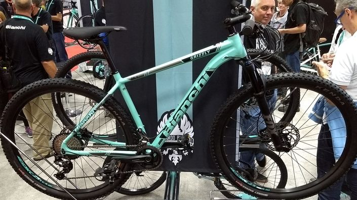 Bianchi Grizzly 29.1 aluminium hardtail