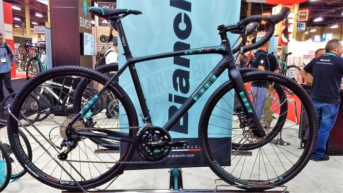 Bianchi Impulso all road gravel bike - matte black