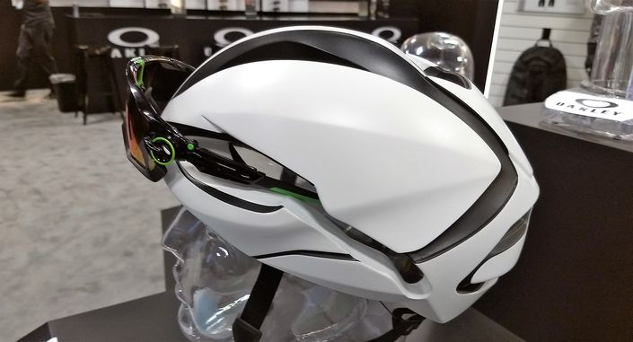 Oakley ARO helmets with sunglasses integration
