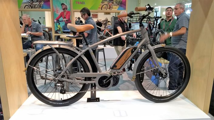 Raleigh Retroglide iE classic-syle e-bike