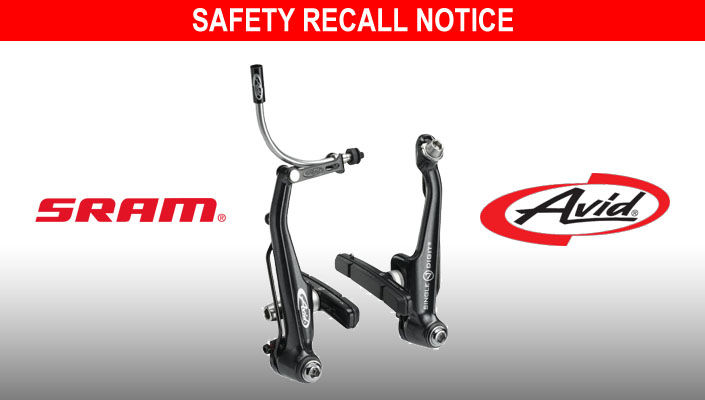 SRAM recalls Avid Single Digit 7 mechanical rim brakes