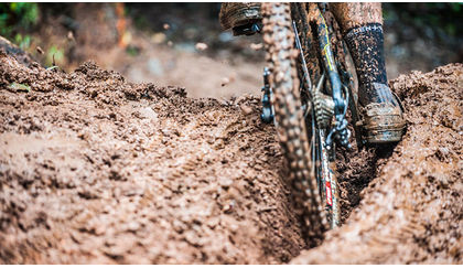 How to ride rutted out trails