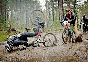 Brake ruts are ineveitable for any bike park