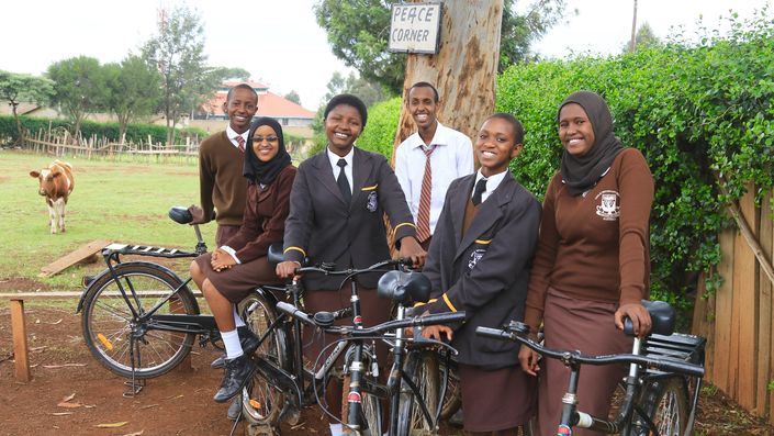 A Journey That Matters: Kenyan children bicycle to school and brighter futures