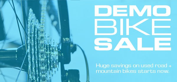 You can realize huge savings by buying demo or rental bikes