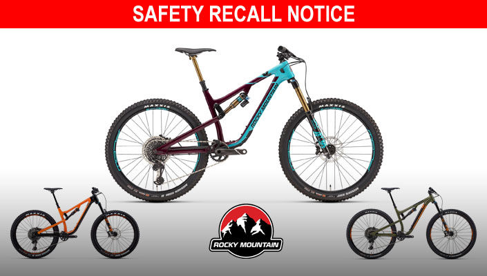 Rocky Mountain recalls mountain bikes due to crash hazard