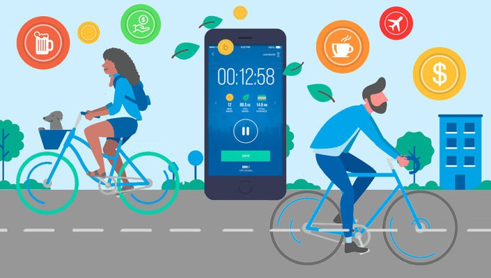 Get more cycling motivation with these incentive and reward apps