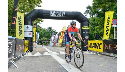 Kimberly Tom finishes Haute Route Alps