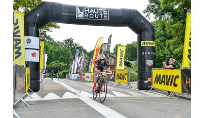 Shawn VanGassen finishes Haute Route Alps