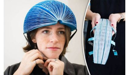 EcoHelmet - folding paper helmet