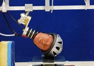 Bicycle helmet safety testing