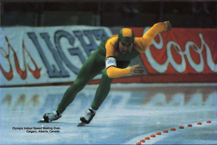 Phil Tahmindjis - Olympic speed skater