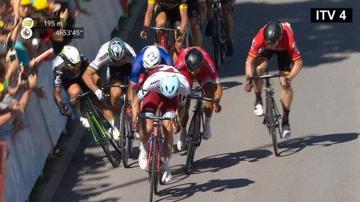 Sagan was cleared only months after his disqualification for an elbow to Mark Cavendish in the 2017 Tour de France