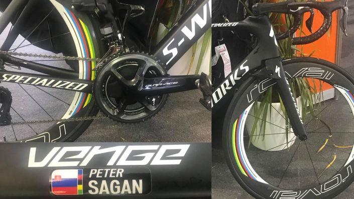 Sagan's Specialized S-Works Venge