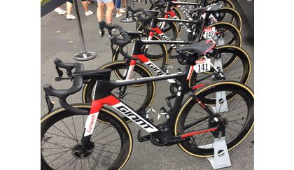 Team Sunweb debuted Giant Propel Disc at the 2017 Tour de France