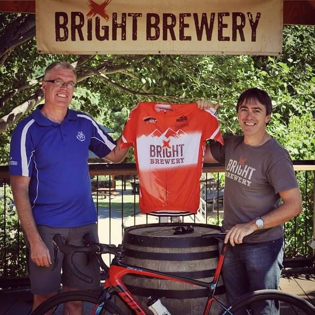 Tour of Bright Orange Leader Jersey - Bright Brewery