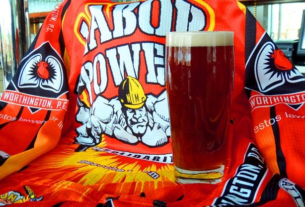 Labor Power Red Lager - Worthy Brewing