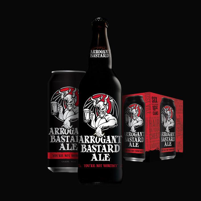Arrogant Bastard Ale – Arrogant Brewing / Stone Brewing
