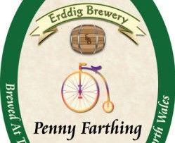 Penny Farthing Bitter Ale - Erddig Brewery