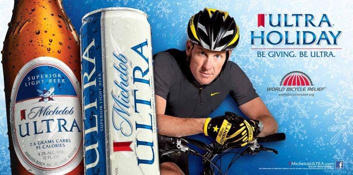 Michelob Ultra featuring Lance Armstrong