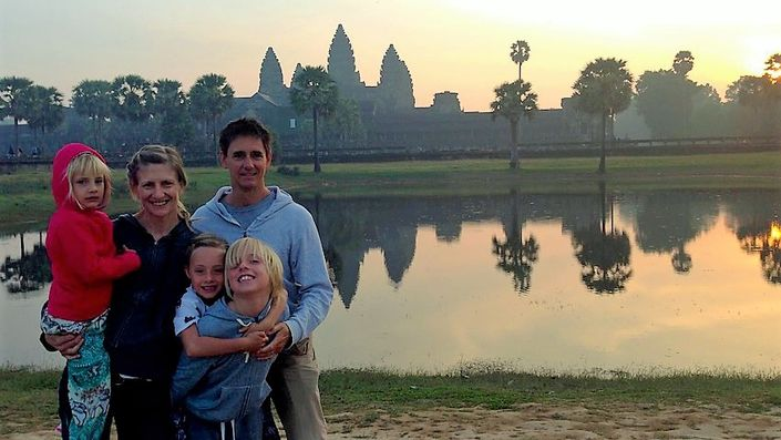Cambodia for Families Bike Tour from Roar Adventures