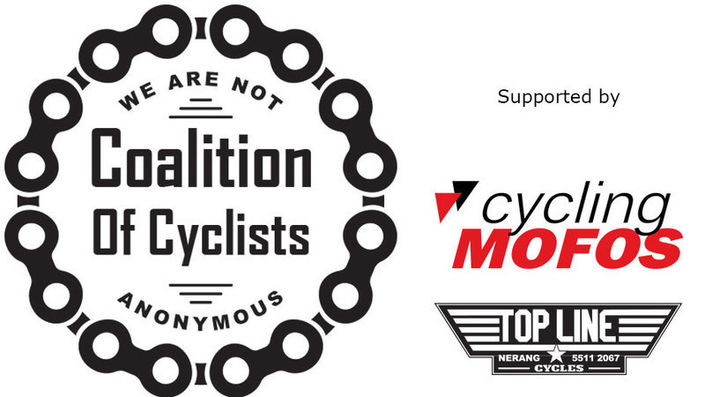 Coalition of Cyclists - supported by cyclingMOFOS and Topline Cycles Nerang