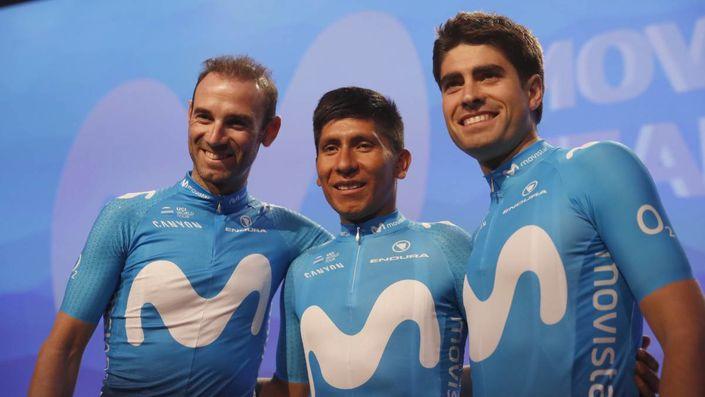 Movistar's Tour Trio - Valverde, Quintana, Landa