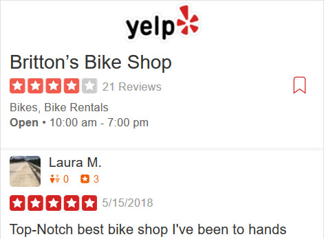 Yelp listing and reviews for Britton's Bike Shop - San Antonio, TX , USA