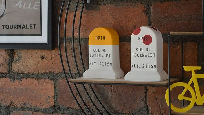 Iconic Col Road Marker Models by Cycling Souvenirs