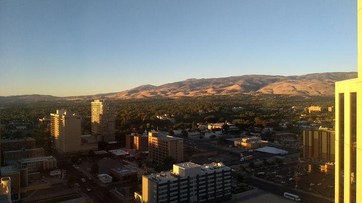 Downtown Reno for Interbike 2018