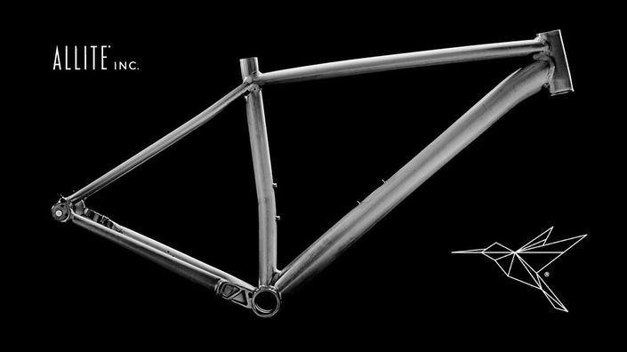 Bicycle frame made from Allite 'Super Magnesium'