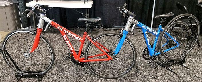 BicBuddy - Separate and Together Tandem Bike