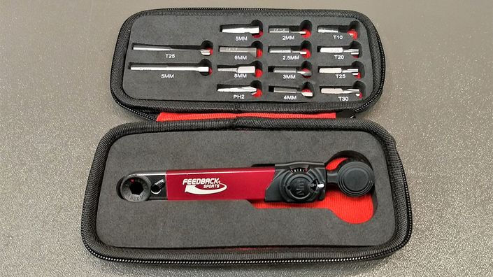 Feedback Sports RANGE torque and ratchet wrench and kit