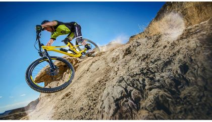 Braking correctly on a mountain bike