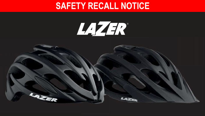 Lazer recalls some helmets for safety risk