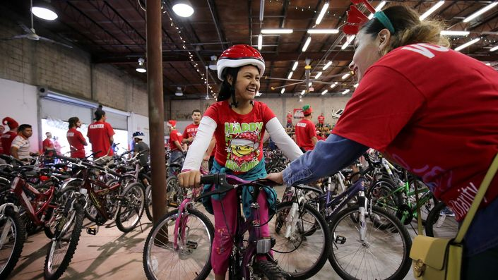 Bicycle Giveaway - Bikes for Kids