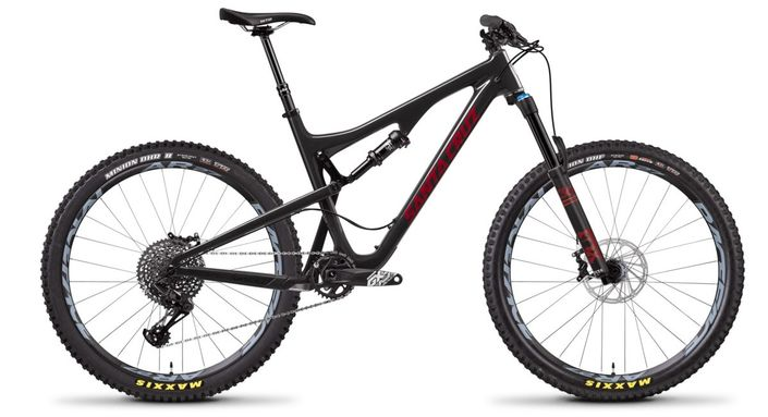 Santa Cruz Bronson S Aluminum Full-Suspension Mountain Bike